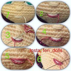 Mesmerizing Crochet an Amigurumi Rabbit Ideas. Lovely Crochet an Amigurumi Rabbit Ideas. Crochet Eyes, Crochet Stitches, Crochet Baby, Baby Knitting, Amigurumi Doll, Amigurumi Patterns, Doll Patterns, Crochet Amigurumi, Crochet Doll Pattern
