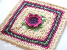 Block #2 in the Moogly Afghan 2016 CAL - by Repeat Crafter Me!