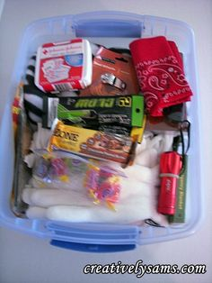 Are you ready for winter driving conditions?  Winter Emergency Kit