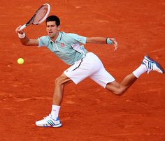 Novak Djokovic. My favorite male tennis player. He has gone from nothing to #1.