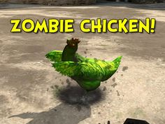 ZOMBIE CHICKEN?! - Counter-Strike: Global Offensive