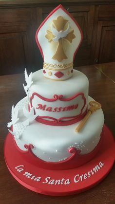 Confirmation Dresses, Confirmation Cakes, Cupcake Cakes, Cupcakes, Cake Pop, First Communion, Celebration Cakes, Biscotti, Amazing Cakes