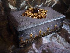 Jewellery Box #decoartprojects #mixedmedia #decoartmedia