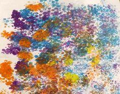 Bubble Wrap Prints | TinyTotties.com #tinytotties #babies