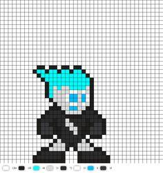 Livewire DC Perler Bead Pattern