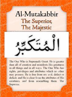 11. Al-Mutakabbir