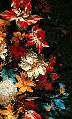 "Juan de Arellano ""Still Life with Flowers"" (details) Look Wallpaper, Aesthetic Iphone Wallpaper, Flower Wallpaper, Wallpaper Backgrounds, Aesthetic Wallpapers, Vintage Flower Backgrounds, Vintage Floral Wallpapers, Illustration Art, Illustrations"