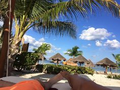 We love this gorgeous shot of our beach at Secrets Maroma Beach Riviera Cancun from our guest Kayla E.!