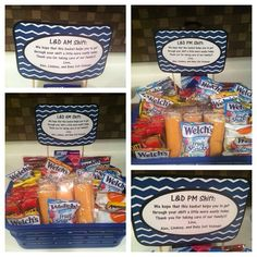 Thank you basket for nurses and staff labor and delivery post ...