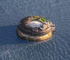 Obra de Reconversão de Forte Marítimo Abandonado em Hotel de Luxo