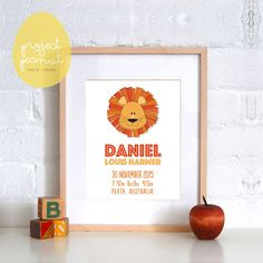 Personalised Birth Announcement Wall Art Printable, Wall Art Wall Decor for Kids Nursery or Playroom. Personalised Gift Nursery Decor.  WHAT DO YOU