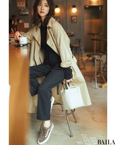 Japan Fashion, Girl Fashion, Womens Fashion, Business Casual Outfits, Minimal Fashion, Winter Wear, Daily Wear, My Outfit, Style Icons