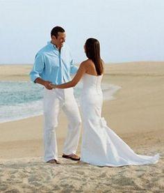 Beach Wedding Attire for the Groom - Weddings in Kenya