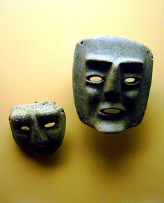 Chontal style masks  Pre-Columbian Mexico