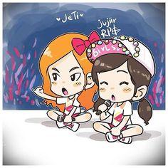 JeTI GG World Tour fanart by Jujiir RPG #JeTi #yaksok #promise