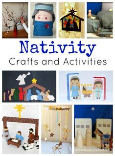 Nativity crafts and activities are the perfect Christmas fun for kids! These activities are reminders of the true meaning of Christmas and help put our focus in the right place. Grab these ideas as you celebrate the birth of the King. Christmas Activities For Kids, Preschool Christmas, Christmas Nativity, Noel Christmas, A Christmas Story, Christmas Themes, Xmas, Advent Activities, Winter Activities
