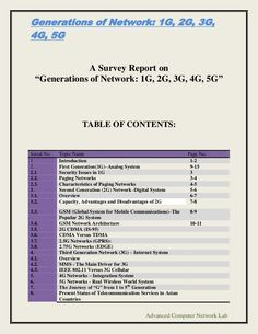generations-of-network-1-g-2g-3g-4g-5g by Noor Mohammad