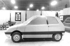 OG | Citroën Z project | Full-size clay model