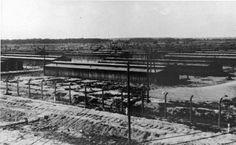 View of the Birkenau camp