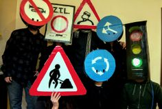 #group costume #traffic signals #cartelli #carnival #carnevale