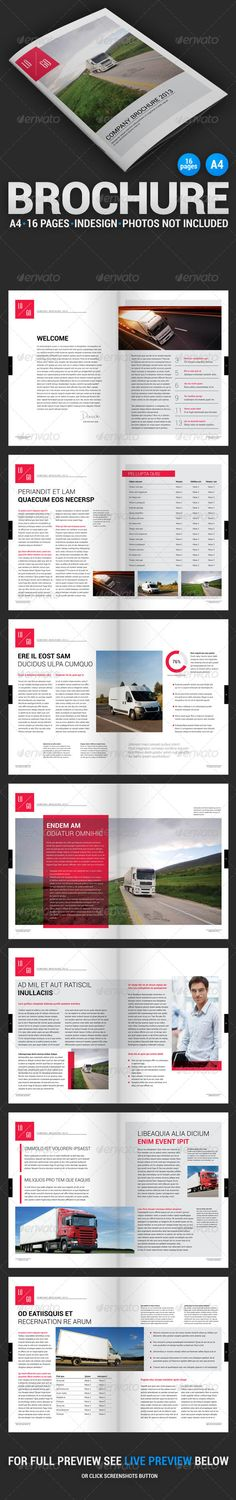Business Brochure 1 #layout #template