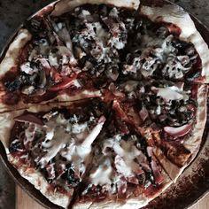 Primal cave mushroom pizza on the grill tonight!!!