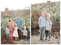 Orange County photographer Brooke Bakken captures the Johnson Family in the desert | What to Wear for Family Photos