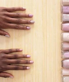 Best Pale Nail Polish For Very Dark Skin