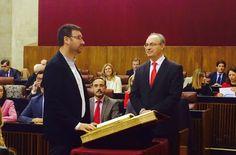 El linarense Daniel Campos, nuevo parlamentario andaluz por el PSOE