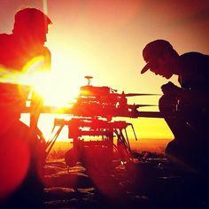 Drone Dudes chasing golden hour in the mountains of Santa Barbara for last weeks shoot with #makemagazine #ford #fpv #uav #multirotor #dronedudes #cinestar8 #remotecontrol #aerialphotography #aerialvideography #aerialcinema #futurekids #santabarbara #soca | Flickr - Photo Sharing!