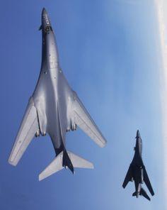 B-1B Lancer's