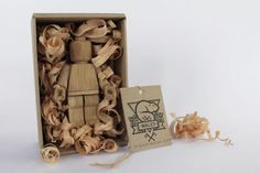 Wooden LEGO Toy