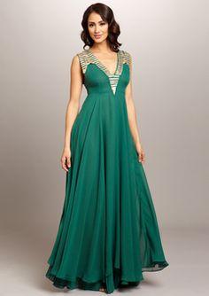 Meghan La — Mia Maxi: love the emerald green color and shape!