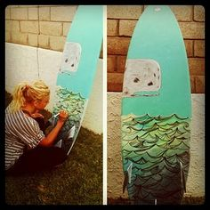 Custom surf boards...awesome art!