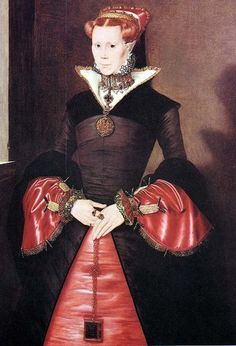 """history-of-fashion: """" 1553 Hans Eworth - Mary Tudor """" Mary I February 1516 – 17 November was the Queen of England and Ireland from July 1553 until her death. Her executions of Protestants. Lady Jane Grey, Jane Gray, Mary I Of England, Queen Of England, Tudor History, British History, European History, Adele, Elisabeth I"""