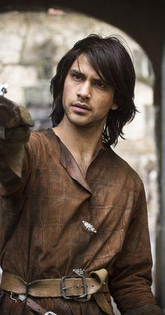 Luke Pasqualino The Musketeers (d'Artagnan)