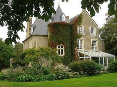 Picture of Caen Area French Chateau For Sale French Country Exterior, Houses In France, European Garden, French Chateau, Interior Architecture, Interior Design, French Antiques, My Dream Home, Curb Appeal