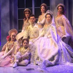 Romanov family costumes from the Anastasia musical.