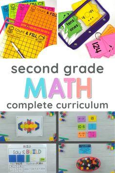 Mindful Math Curriculum for Second Grade