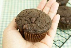 Vegan Chocolate Pumpkin Muffins