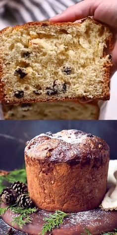 Easy Homemade Italian Christmas Bread Panettone Recipe – perfect for the holid. - Easy Homemade Italian Christmas Bread Panettone Recipe – perfect for the holidays! This Panettone - Italian Christmas Desserts, Italian Christmas Dinner, Italian Desserts, Christmas Baking, Christmas Holidays, Christmas Appetizers, Christmas Drinks, Christmas Quotes, Christmas Crafts