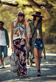 Υιοθετήστε σωστά τη hippie chic τάση