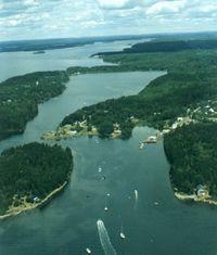 Basin Cove Harpswell Maine