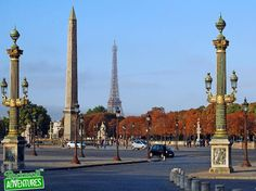 The Réverbères and the Obelisk of Luxor, Place de la Concorde, Paris (x). Tour Eiffel, Concorde, Landscape Photos, Landscape Design, Paris Tumblr, Paris Tour, Paris Paris, Paris In Autumn, Photos Hd