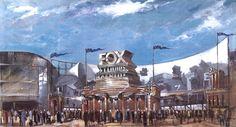 Fox Backlot Australia Theme Park. Concept