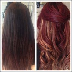 "Hair Color Trends 2017/ 2018 - Highlights : ""Before & After ... 