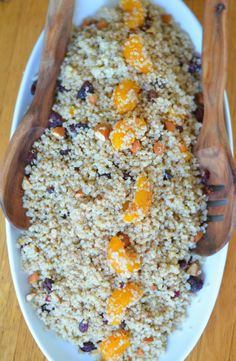 Toasted Almond + Quinoa Salad   Luci's Morsels