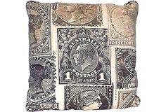 Custom Timney Fowler Fabric Pillow