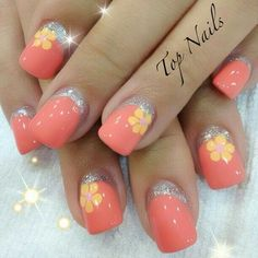 100 top trendy Spring Nail ideas you must see...
