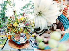 southwestern inspired weddings - photo by Gideon Photography - http://ruffledblog.com/textured-wedding-inspiration/